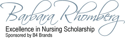 Barbara Rhomberg Excellence in Nursing Scholarship